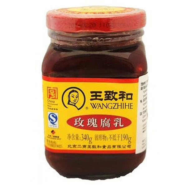 WZH Preserved Bean Curd-Rose 340g