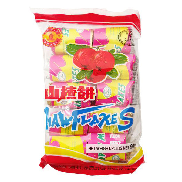 Lucky Pearl Haw Flakes 90g