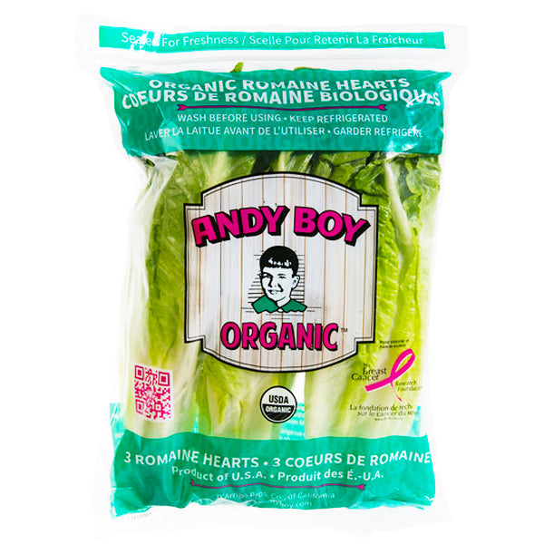 Andy Boy Organic Romaine Heart