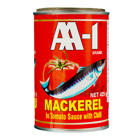 AA-1 Mackerel In Tomato Sauce with chili 425g