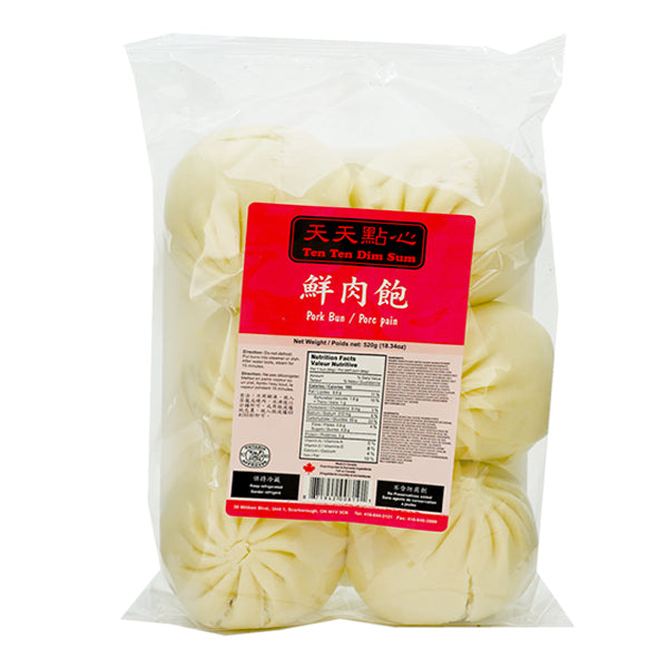 Ten Ten Pork Bun 520g