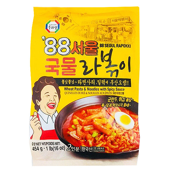 88 Seoul Rappokki-Wheat Pasta&Noodle With Spicy Sauce 454g