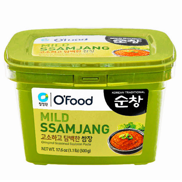 O Food Mild Ssamjang-Korean Dipping Sauce 500g