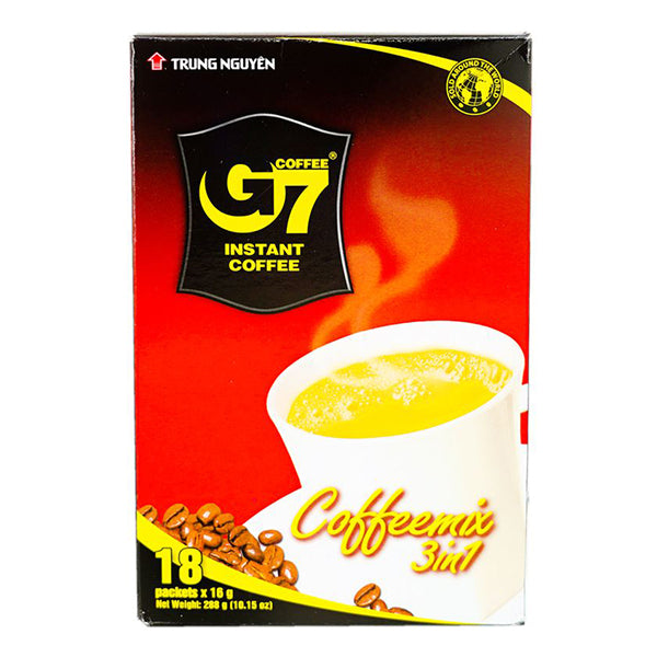 G7 3in1 Instant Coffee Mix 18x16g