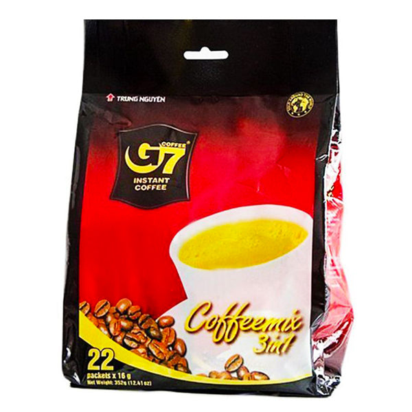 G7 3in1 Instant Coffee Mix 22x16g