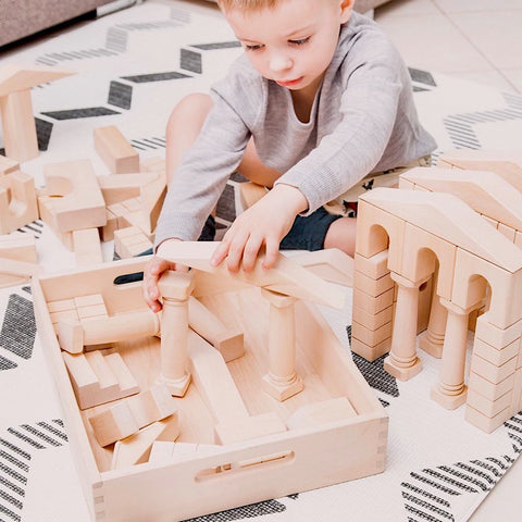 Wooden Building Blocks | Happy Go Ducky