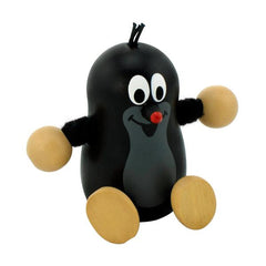 Little Mole Wooden Figure Toy - Happy Go Ducky