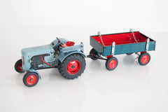 Tin Toy Tractor - Traditional Czech Toys
