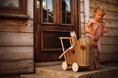 Wicker Dolls Pram | Lilu