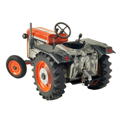 Wind Up Tin Toy Kubota T 15 Tractor - Kenji