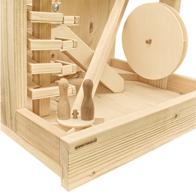 Extra Large Wooden Marble Run