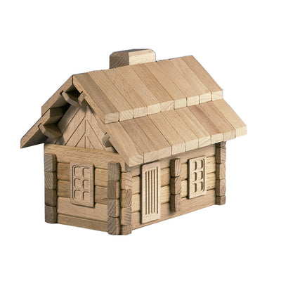 Wooden Puzzle House - Happy Go Ducky