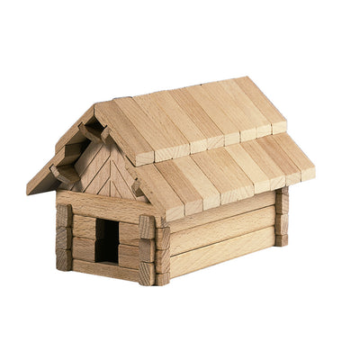 large wooden building puzzle