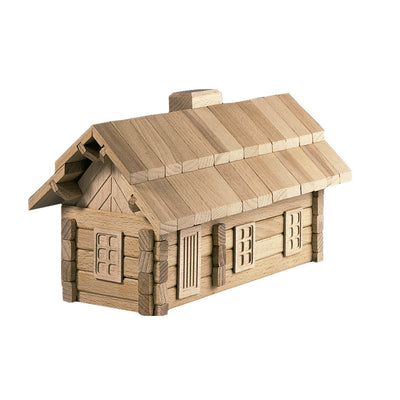 wooden puzzle house toy