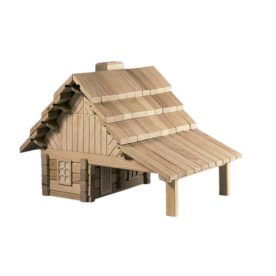 large wooden house puzzle