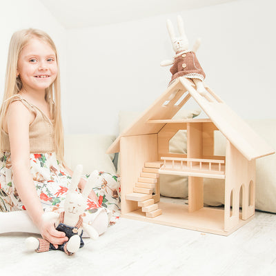 Wooden Doll House - Majesty (Arriving Oct)