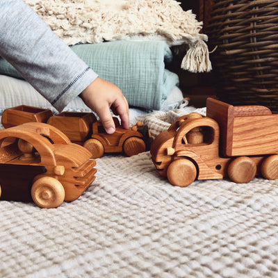 Vintage Wooden Toys Cars