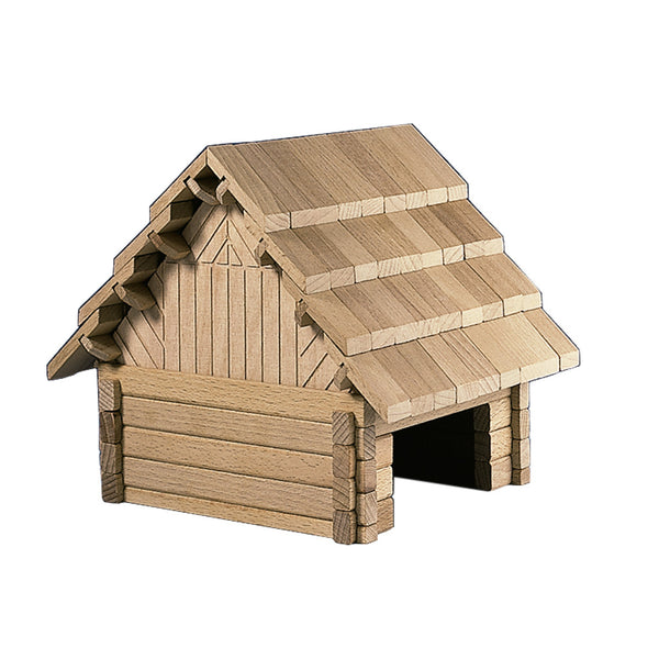 Wooden Building Puzzle - The Chalet