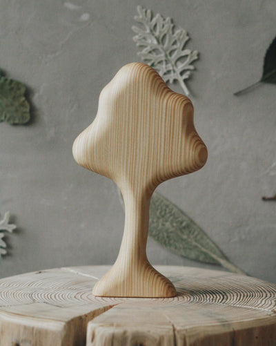 Wooden Trees - Set Of 4