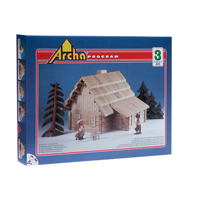 Large Wooden Building Puzzle 23 in 1 - The Lodge