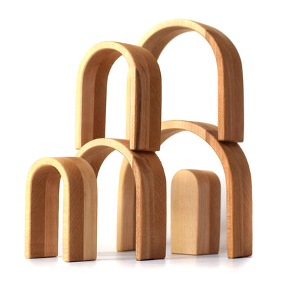 Wooden Arches - Natural