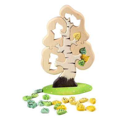 Large Wooden Birch Tree Puzzle