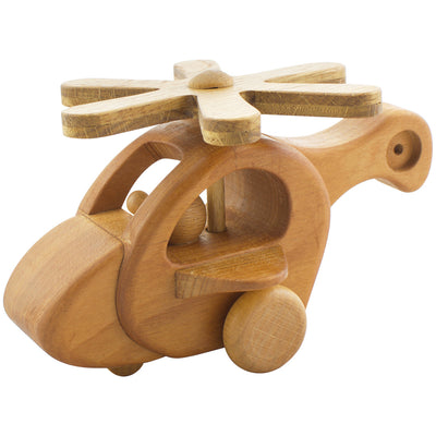 Wooden Helicopter - Maxine