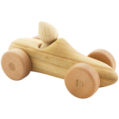 Wooden Car With Driver - Felix