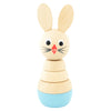Wooden Rabbit Stacking Puzzle - Bobby
