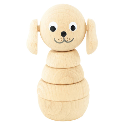 Wooden Stacking Puzzle Dog - Blair