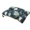 Large Muslin Pillow - Dark Peonies