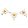 Wooden Bunting Flags - Stars