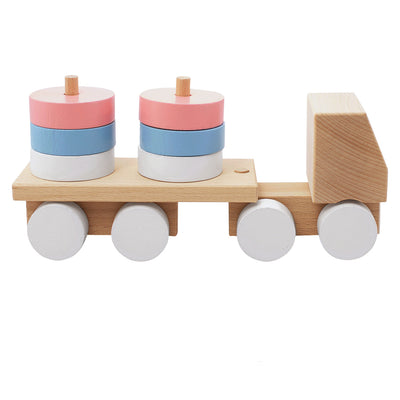 Wooden Stacking Truck - Marley