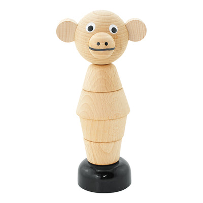 Wooden Stacking Monkey Puzzle Toy