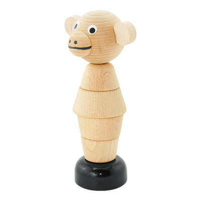 Wooden Monkey Stacking Puzzle - Marlon