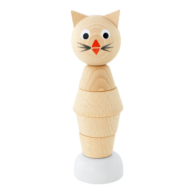 Wooden Cat Stacking Puzzle - Chloe