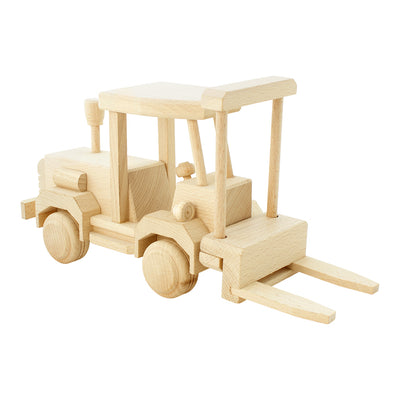 Large Wooden Forklift - Howard