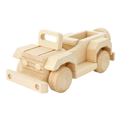 Wooden Jeep - Harlan