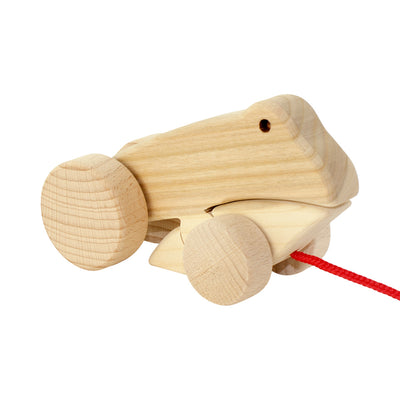 Wooden Frog Pull Along - Fletcher