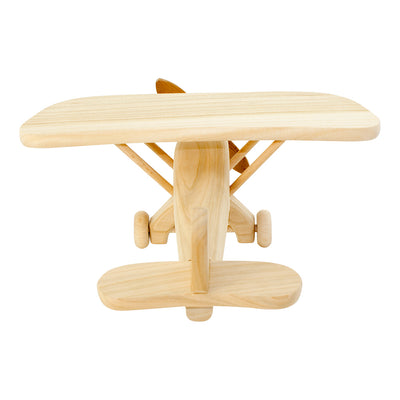 Large Wooden Toy Propeller Plane - Clifford