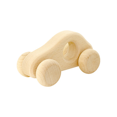 Wooden Push Car - Goldie