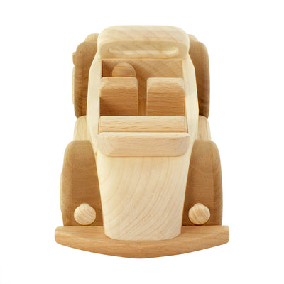 Wooden Toy Beetle Car - Sadie