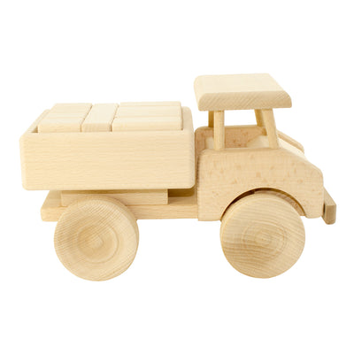 Wooden Truck With Blocks - Darby