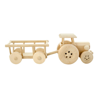 Large Wooden Tractor - Miles
