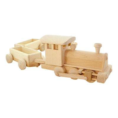 Large Wooden Toy Steam Train