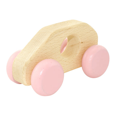 Wooden Push Along Toy Car - Millie
