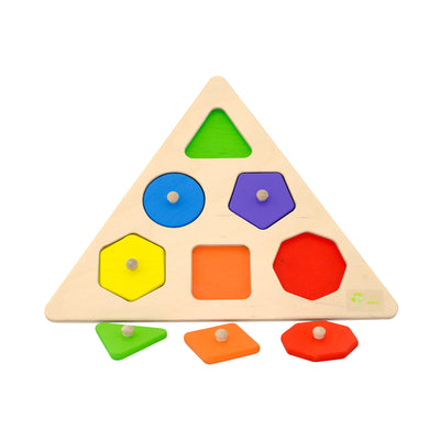 Wooden Geometric Shape Puzzle