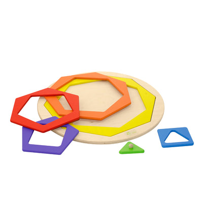 Wooden Shape Puzzle (Arriving Oct)