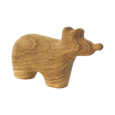 Wooden Bear Figure - Quincy