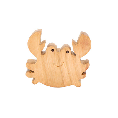 Wooden Crab Figure
